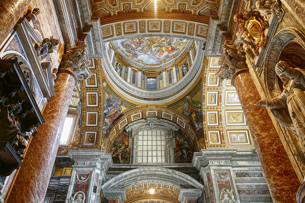 Friday, Sep 20: Sistine Chapel, St. Peter's Basilica& Vatican Crypts -