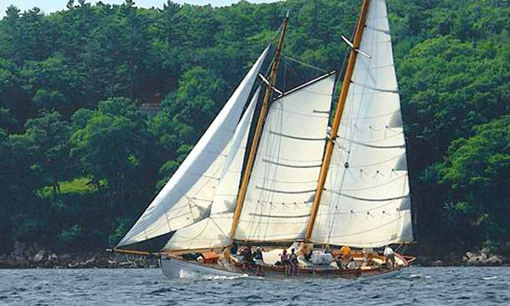 Activities in Rockport - Schooner Yacht Heron $90.00 PPSail the Maine Coast aboard Schooner Yacht HERON, a 65' John Alden designed Classic Schooner Yacht. Experience the thrill of sailing a classic wooden schooner. HERON is fast and steady as she sails among the pristine islands of Penobscot Bay. The Schooner Yacht HERON is truly the finest day sailer in the fleet. Quality sails offered daily. Enjoy Maine's tastiest Lobster Roll lunch, educational Indian Island Lighthouse/Eco tour or a relaxing Sunset Dinner Sail. Private sails, group and custom charters also available. HERON is family built, owned and operated by the Bower family of Camden, Maine.Windjammer Classic Sunset Sail $65.00 PPEnjoy a one-of-a-kind perspective on Maine's picture-perfect sunsets when you embark on an evening sailing tour. Departing from the scenic Camden Harbor, you'll travel in comfort aboard a large, elegant windjammer that was built according to traditional methods. Sail past Curtis Island Light, chart Penobscot Bay, and take in the ruggedly beautiful coastal scenery, with views of mountains in the distance. You can spot local wildlife, enjoy drinks on board (available for purchase), and see the sun set over the water before returning to the harbor.