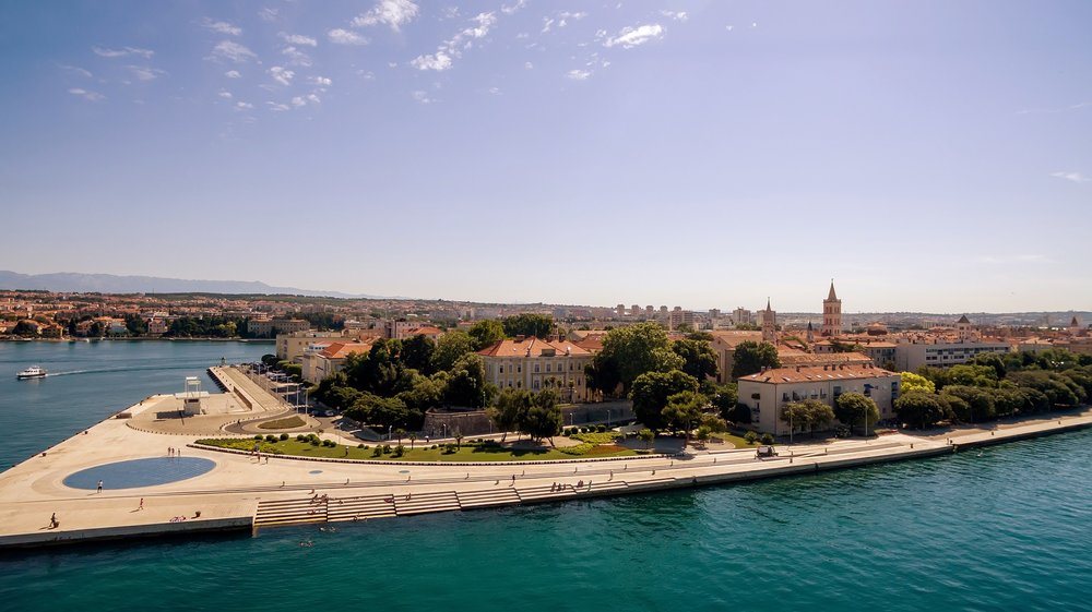July 26: Zadar, Croatia - ship docked from 11am-8pmZadar is a small port and does not offer many options for tour, I recommend seeing city at your own pace.