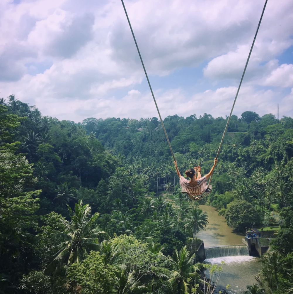 May 17: Chanting Meditation, Jungle Swing - During the day, you may want to go into Ubud to explore, seek the council of a Balinese Healer, or do some shopping. The Four Seasons also offers many spa treatments and various chakra healing sessions that are not included in this itinerary.