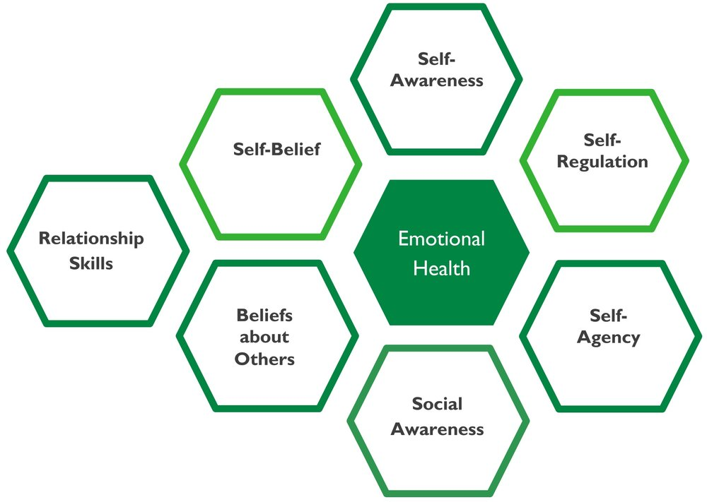 7 competencies of emotional health