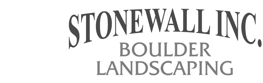 Stonewall Inc. Boulder Landscaping