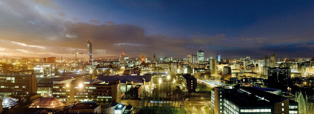 Manchester Skyline 2012