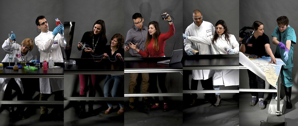 University staff and students photographed by Jill Jennings