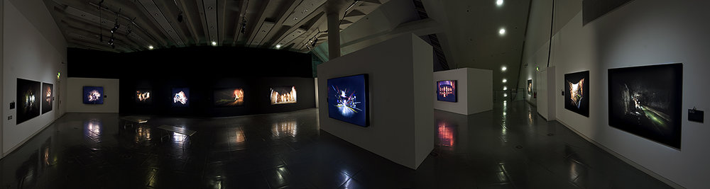 Hidden Manchester exhibition made with Curated Place, Showing here at URBIS.  View more from the Secret Cites projects