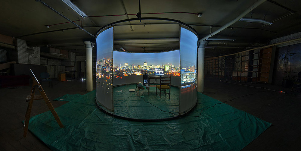 Immersion projection space made with Curated Place and supported by Arts Council England. View two films from this project here:  Manchester  -  Iceland