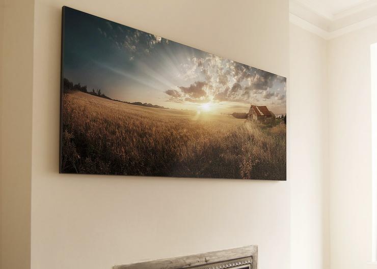 Panel mounted artwork