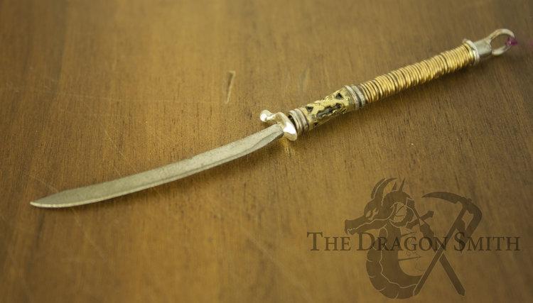 Sword Pendants — LiZz The Dragon Smith