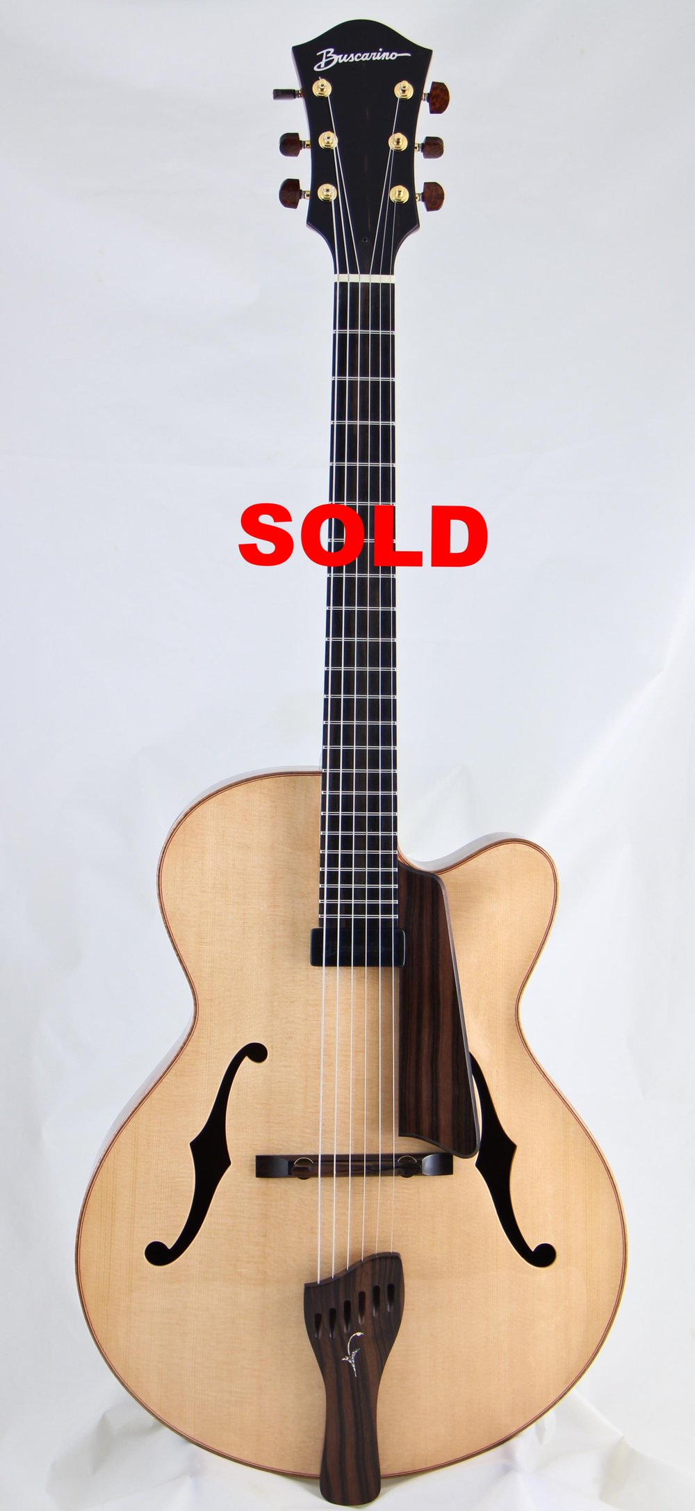 "New 16"" Artisan Archtop"