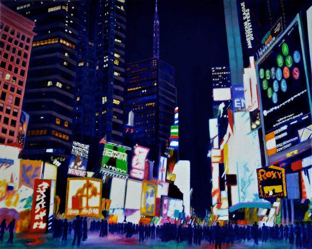 "New York, New York       24"" x 30"""
