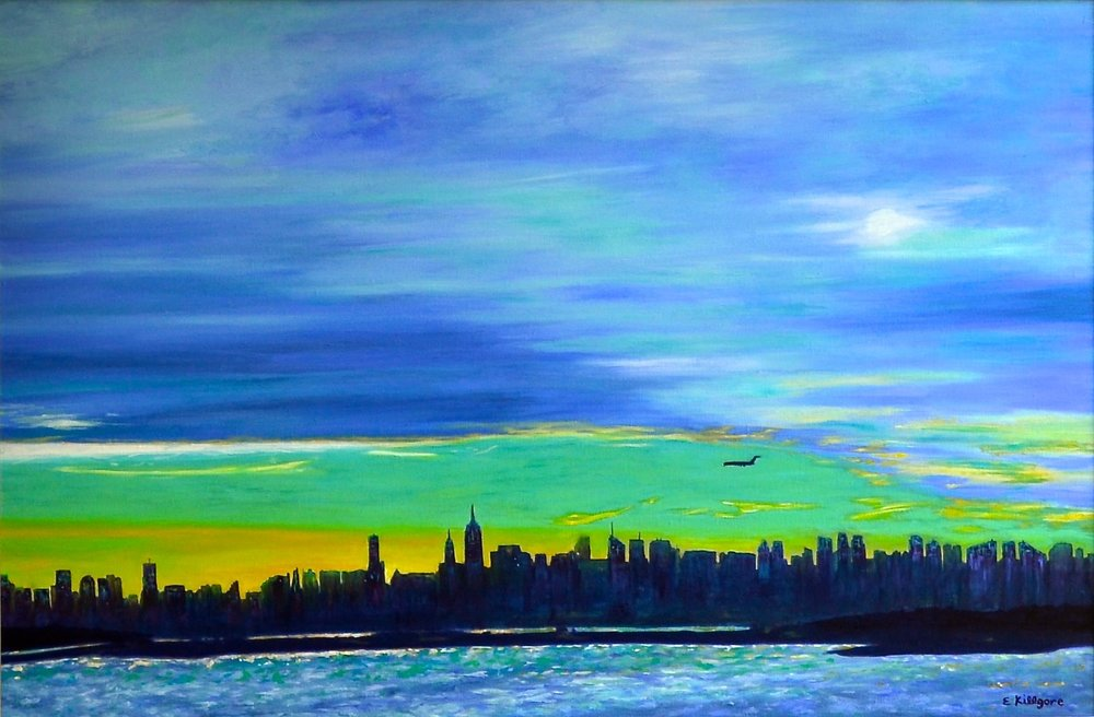 """Come Fly With Me   20"""" x 30"""""""