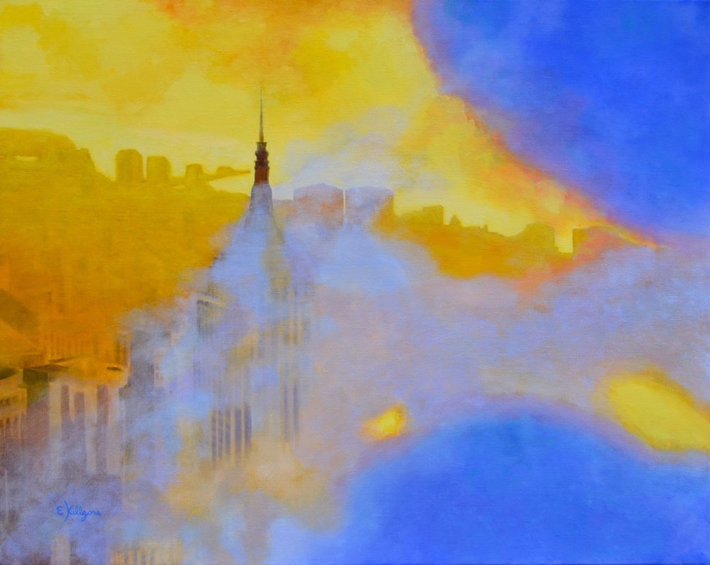 """Empire State of Mind 24"""" x 30"""""""
