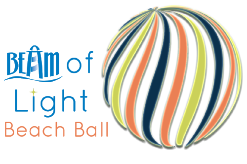 BEAM of Light Beach Ball Logo