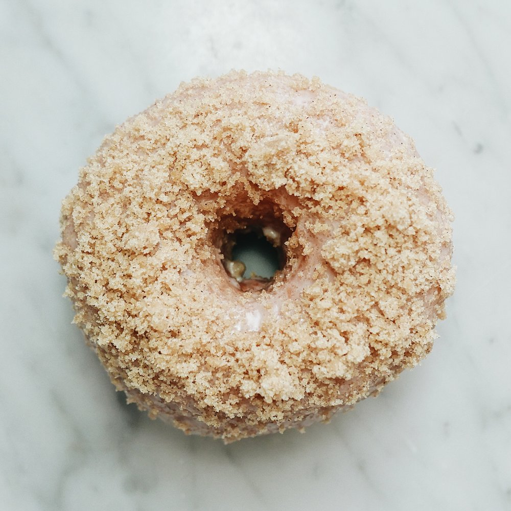 THE MILK MONEY DONUT - We're very excited about this new and improved recipe. Our team has been working with Chef Matt Masera to create THE MILK MONEY donut. This donut will be available everyday.