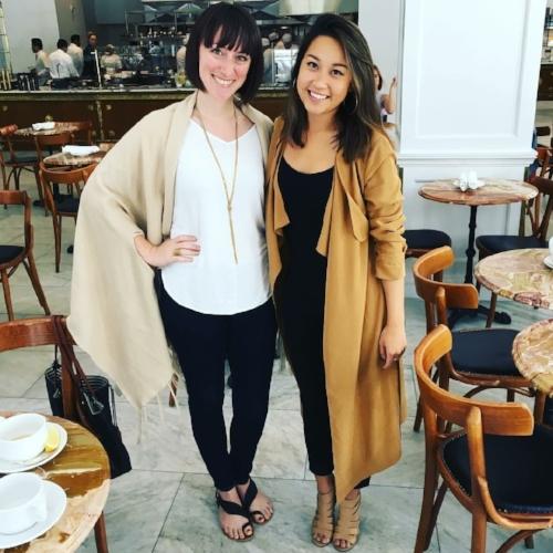 Bri Seeley & Jessica May Tang