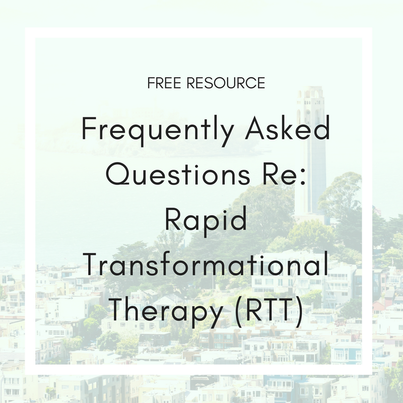 FAQ Rapid Transformational Therapy