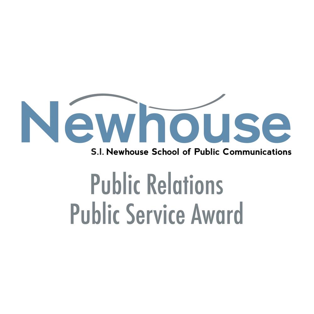S.I. Newhouse Public Relations Public Service Award