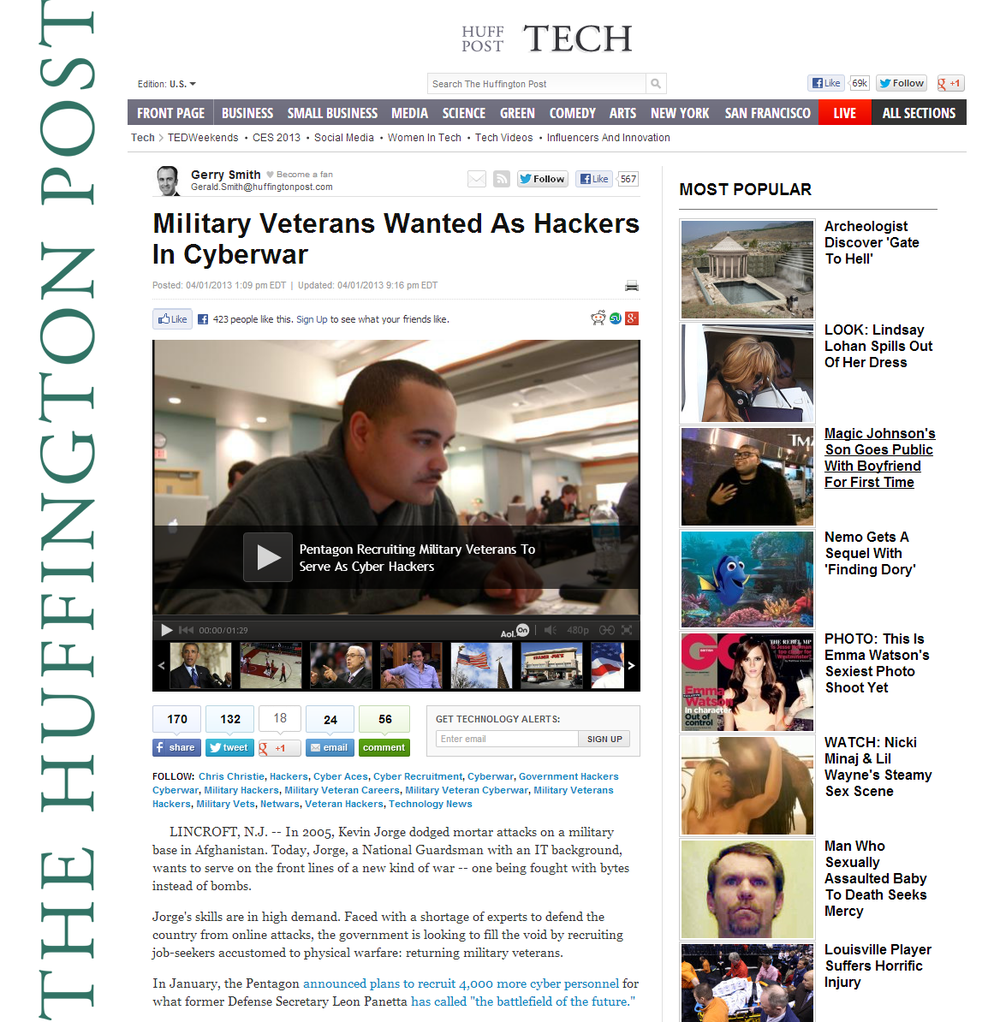 Huffington Post_Cyber Aces