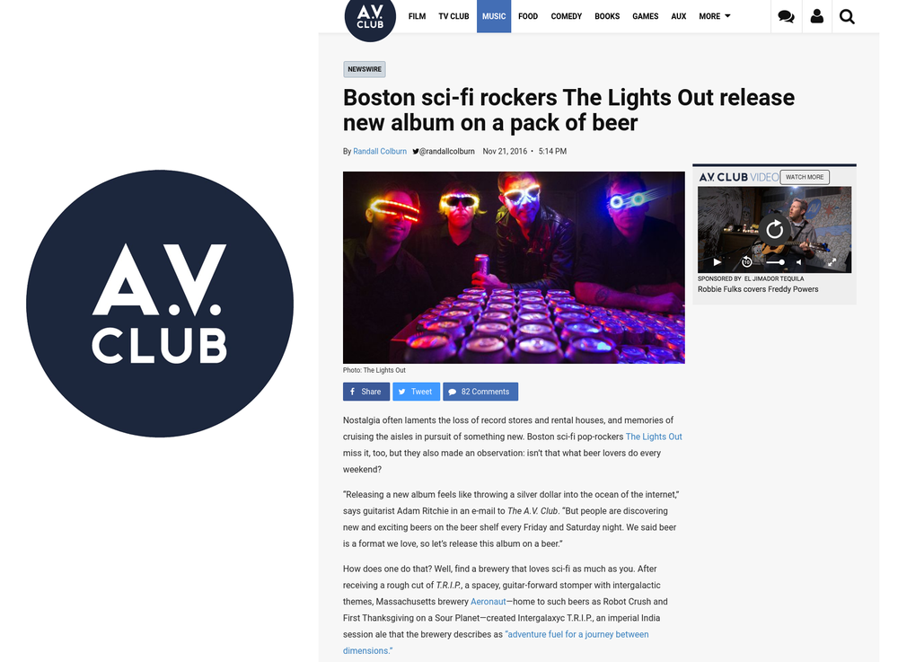 (The Onion) The A.V. Club_The Lights Out