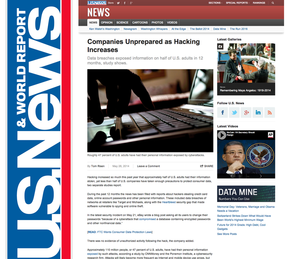U.S. News & World Report_Cyber Aces Championship