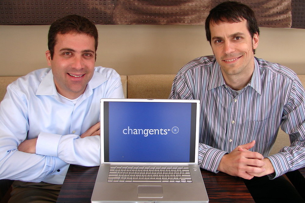 Changents Co-founders Deron Triff and Alex Hofmann