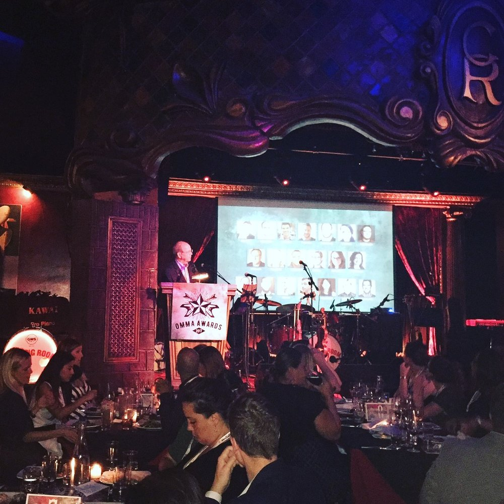 (MediaPost) OMMA Awards at The Cutting Room