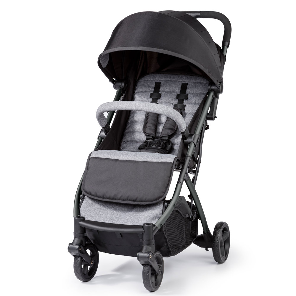 Summer Infant 3Dpac CS+ Compact Fold Stroller_Hero_3-4 view_Ash Gray_32723_IMG-1_BEAUTY_3000x3000.jpg