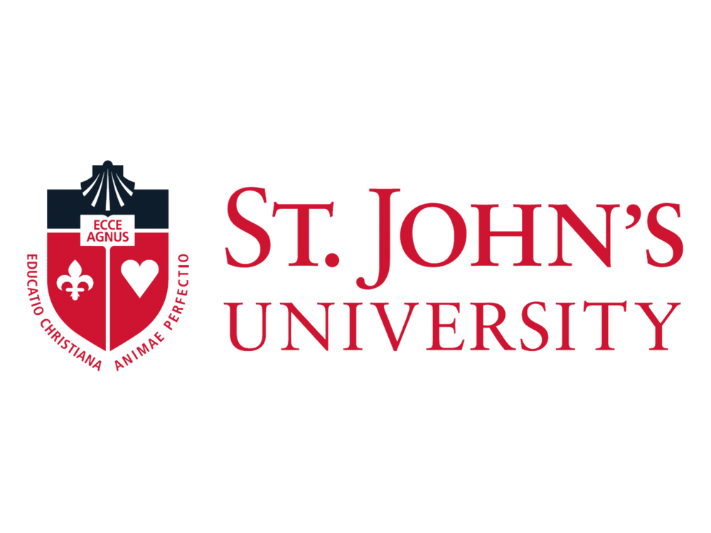 Logo, Speaking Engagement_St. John's University_Logo_original, edited transparent, mounted_FAV.png