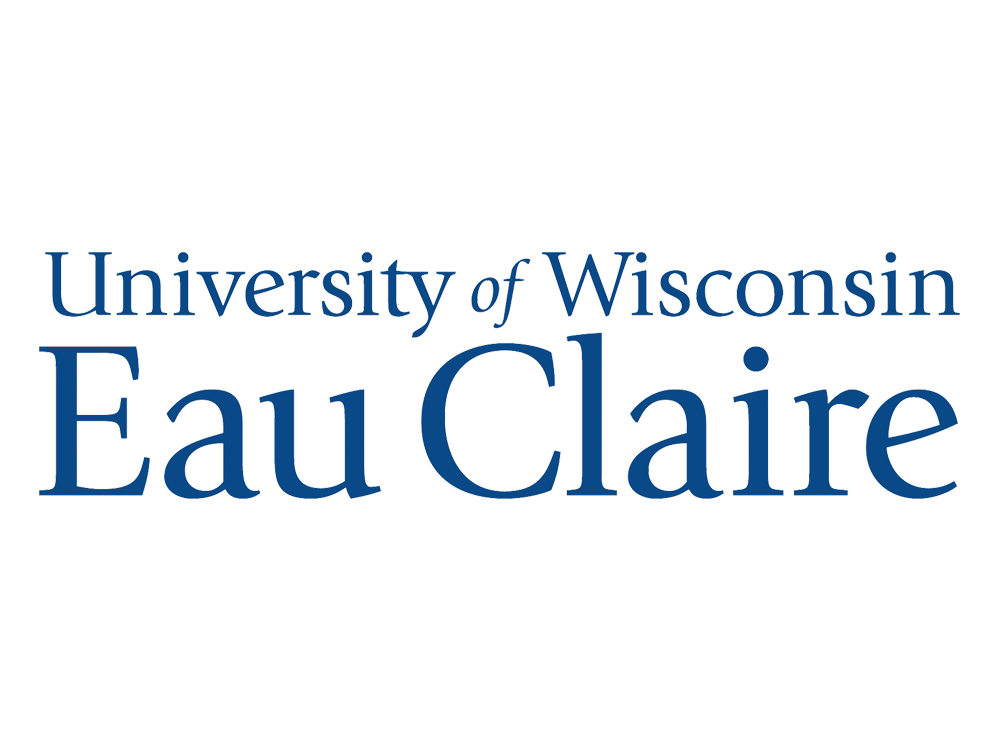 Logo, Speaking Engagement_University of Wisconsin-Eau Claire_Logo, screen shot, edited transparent, recolored, mounted_FAV.png