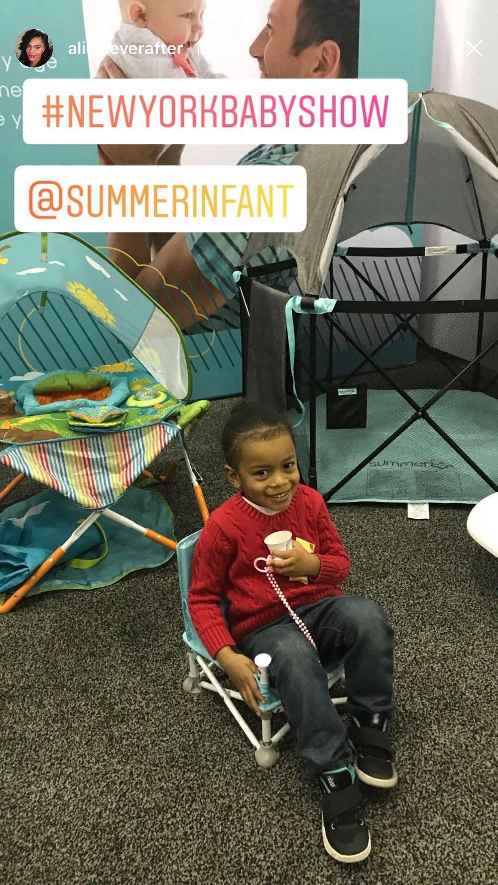 2018.05.19-20_Alicia Ever After, Instagram Story_Summer Infant Pop 'N Sit Portable Booster.jpg