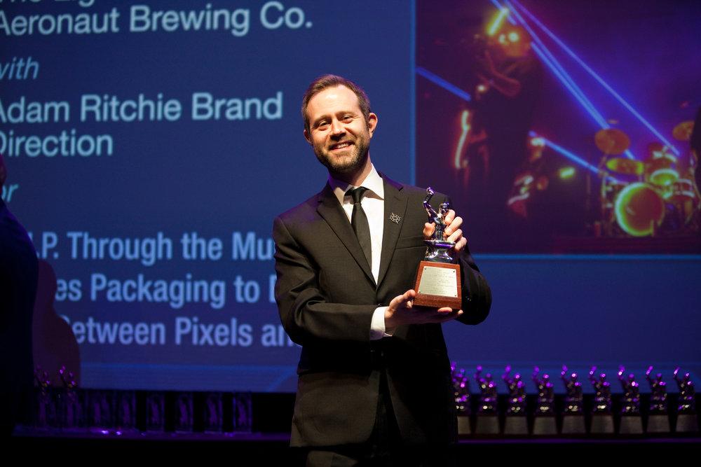 At the PRSA Anvil Awards_photo by Albert Chau