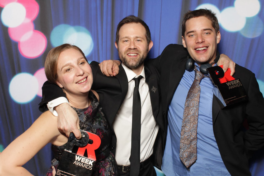 At the PRWeek U.S. Awards, Cipriani Wall Street, NYC_photo booth
