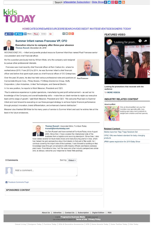 2018.12.20_Kids Today Online_Summer Infant CFO Paul Francese_cropped 2x3.png