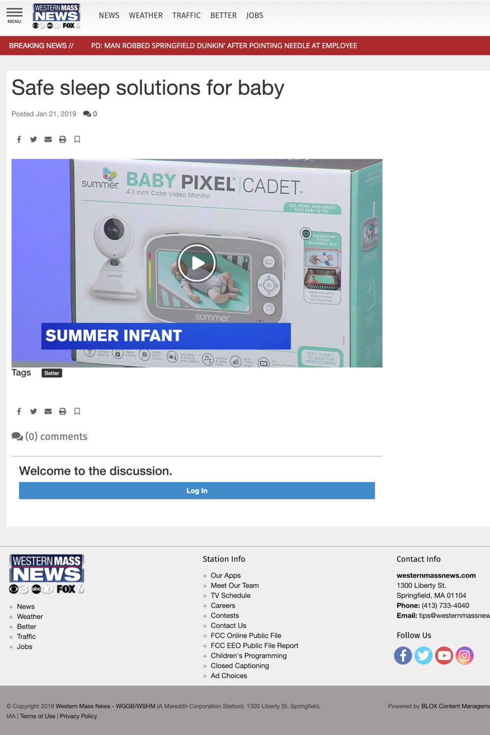 2019.01.21_WGGB-TV (ABC 40), WSHM-TV (CBS 3) Springfield, Better Western Mass Online_Summer Infant Baby Pixel Cadet Video Monitor_cropped 2x3.png