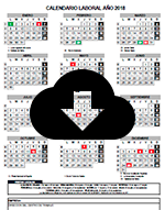 Calendario Laboral 2018 /2018 Work Calendar
