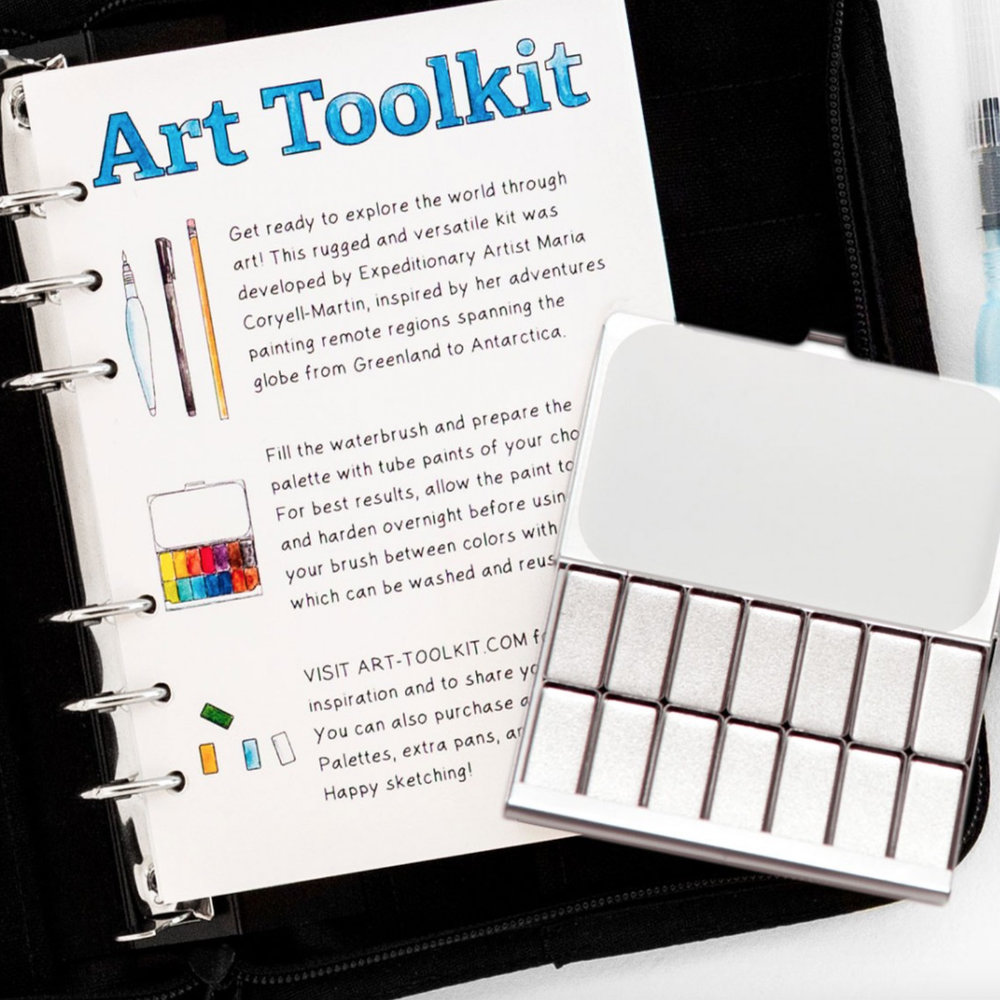 GET 10% OFF YOUR ART TOOLKIT  - Join our newsletter and receive a promo code for 10% off your purchase of any of the awesomely efficient and remarkably reusable kits and supplies from Expeditionary ArtCHECK OUT THEIR PRODUCTS HEREJOIN THE NEWSLETTER HERE.