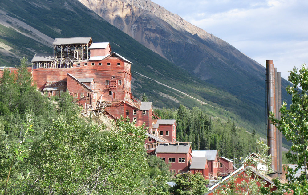 Kennecott Mill in Alaska