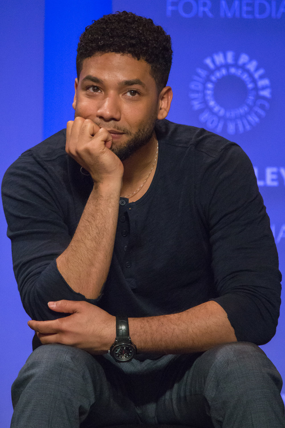 Jussie Smollett at Paley Fest in 2016