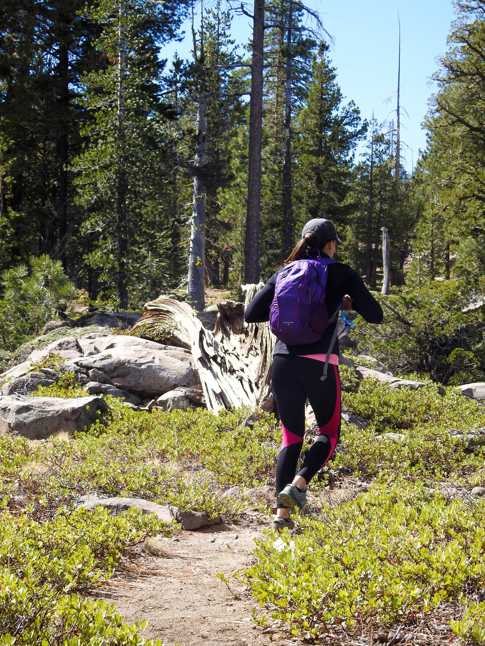 Hiking near Mt. Lassen National Park