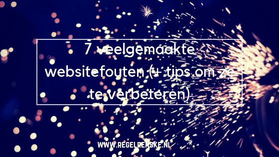 websitefouten