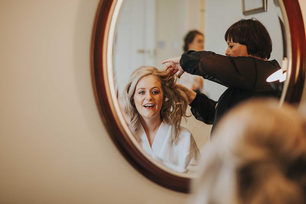 East Riddlesden Hall bridal prep