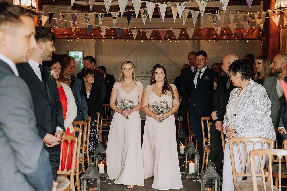 ceremony at Airdale Barn