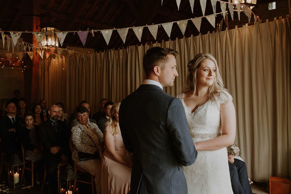Airdale Barn wedding