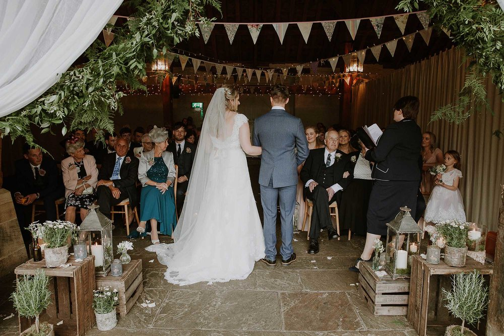 East Riddlesden Hall ceremony