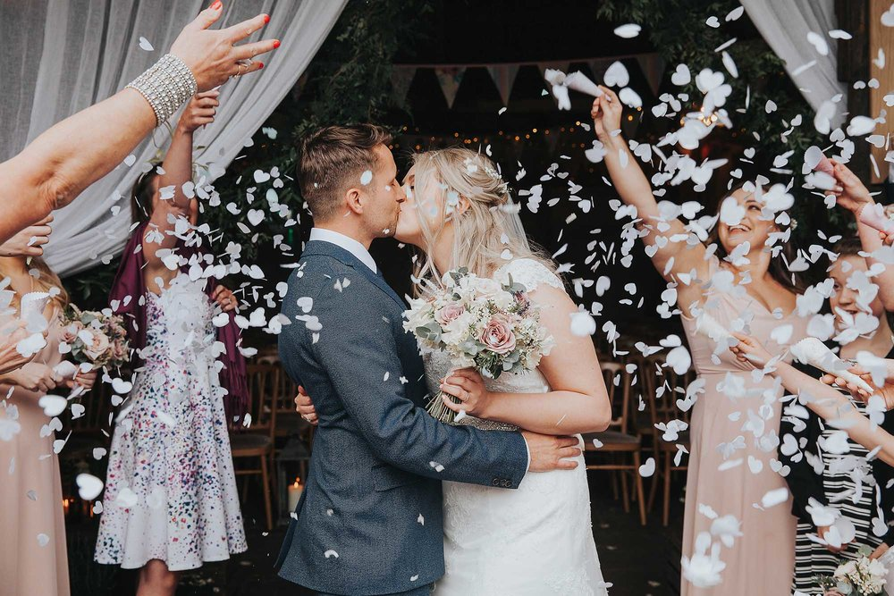 East Riddlesden Hall confetti