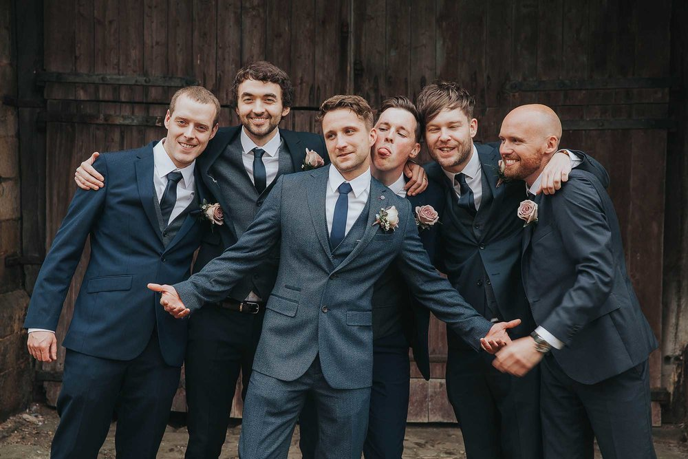 groomsmen East Riddlesden Hall