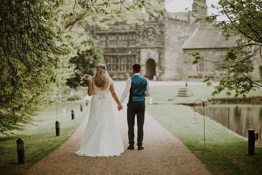 East Riddlesden Hall wedding photograph