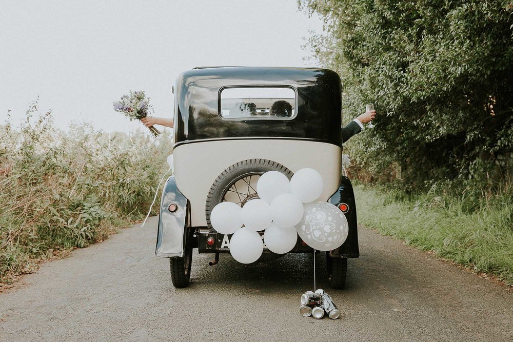 Ripponden wedding car