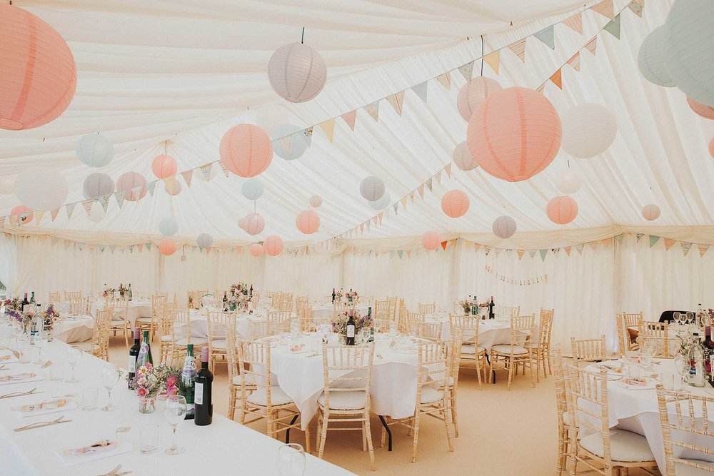 Ripponden marquee wedding