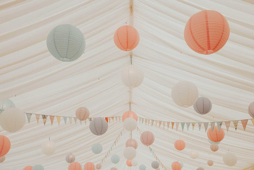 Yorkshire marquee wedding